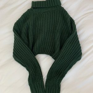 Fashion nova medium crop sweater